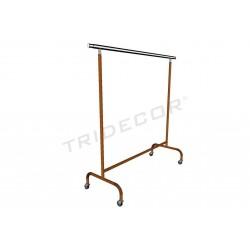 038931 Perchero con brazos extensibles bronce 160x150x58 cm, tridecor