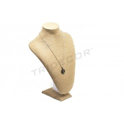 EXHIBITOR-COLLAR LINEN THICK 23X15X32.5 CM