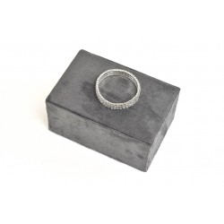 RECTANGLE FOR JEWELRY, VELVET GREY