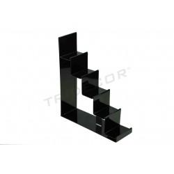 参展商楼梯的黑甲基丙烯酸5的高度