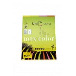 Papel colores flúor A4 200 hojas