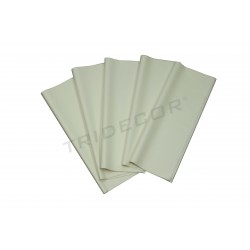PAPEL SEDA COLOR BLANCO 62X86 CM 100 UNIDADES