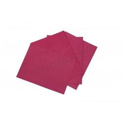 纸品红色的丝绸75x50cm100个单位