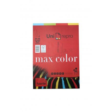 Paper multi-color de 200 fulls din A4.