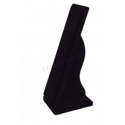 参展商垂手镯的,黑色的天鹅绒