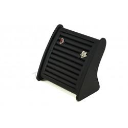 Les exposants pour les anneaux, avec du noir de cuir synthétique