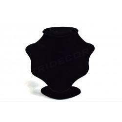 DISPLAY NECKLACES, BLACK VELVET SMALL