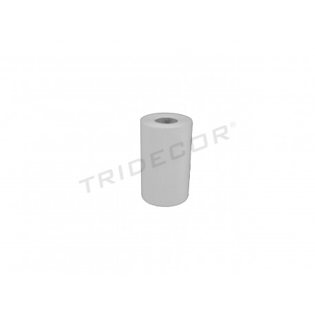 Papel térmico 80x80 mm 8 rollos, tridecor