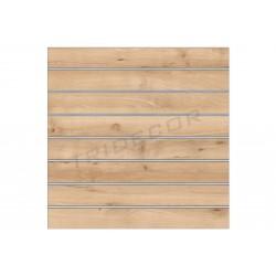 Painel lamas bétula 120x120 cm Tridecor