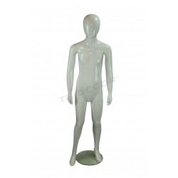 MANNEQUIN TEENAGE BOY FROM FIBER GLASS COLOR GLOSS WHITE
