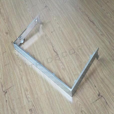 006018 Estante para sistema cremallera 60x30 cm. Tridecor