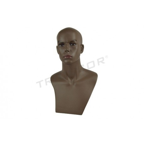 Man head color dark