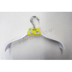 Hanger white plastic 38cm