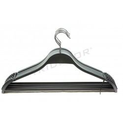 Gancio di plastica nera con la barra di 43cm