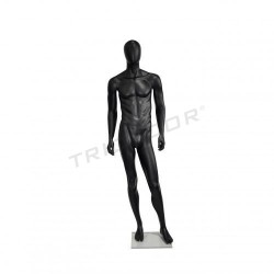 Maniqui black man matte, tridecor