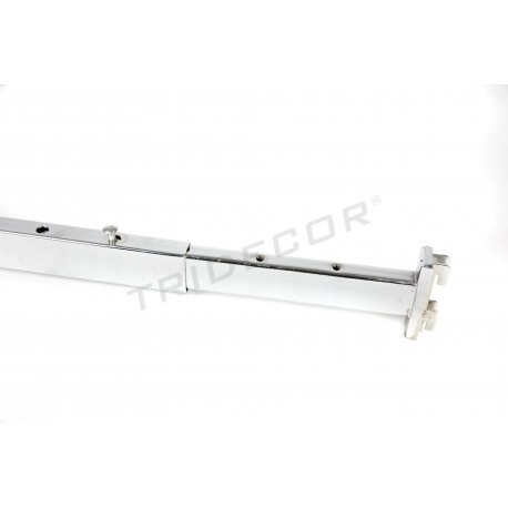 045511 Barra de refuerzo extensible para el sistema de cremallera. Tridecor