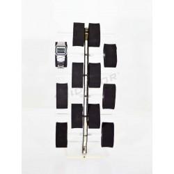 Expositor reloj para 12 unidades, tridecor