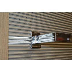 006542 Barra appendiabiti sciarpe cromo 60 cm Tridecor