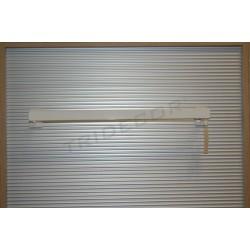 006540 Barra appendiabiti per sciarpe colore bianco 60 cm Tridecor