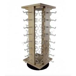 Expositor gafas, de madera para 32 unidades, tridecor