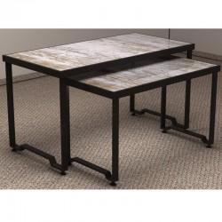 Le tabelle che espongono set di 2 altezze