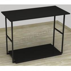 Table exhibiting black color 120x87x39 cm, tridecor