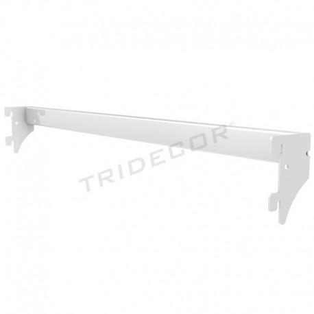 013185条的金属架白色90厘米Tridecor