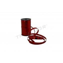 POLYPROPYLENE TAPE RED METALLIC 100 MTS