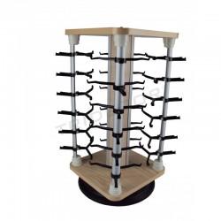 Expositor gafas, de madera para 24 unidades, tridecor