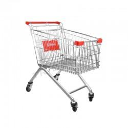Coche supermercado 100 L, tridecor