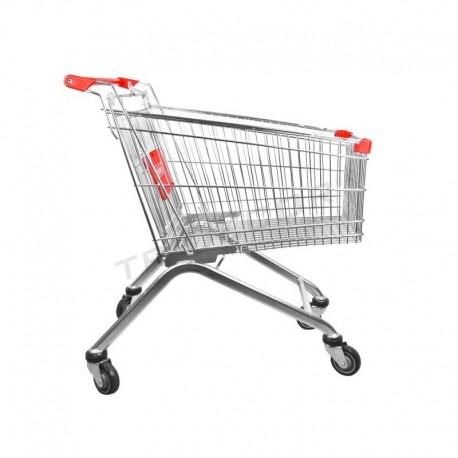Carrinho de supermercado 120 L, tridecor