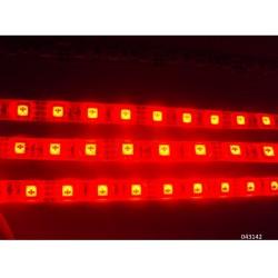 TIRA DE LED FLEXIBLE ROJA 60W 12V 14.4W 5M