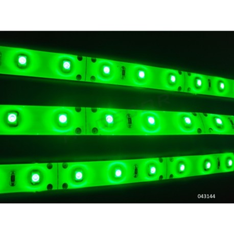 TIRA DE LED FLEXIBLE VERDE 60W 12V 14.4W 5M