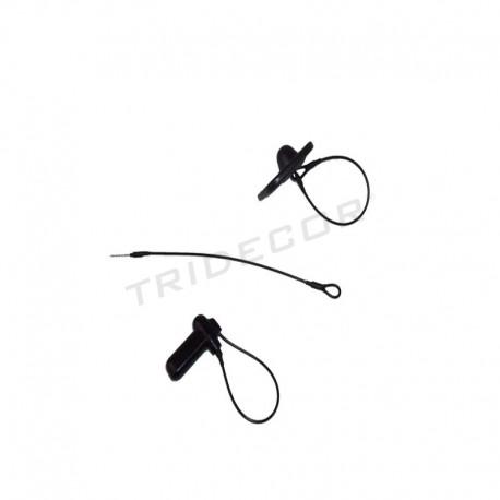 012003 cavo Patch anti-furto di colore nero. Tridecor