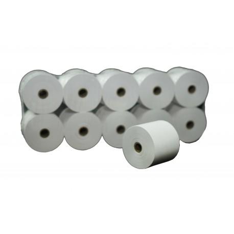 Thermal paper 56x65x12mm, 10 rolls, tridecor