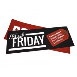 014973 Cartel Black Friday 100x35 cm. Tridecor