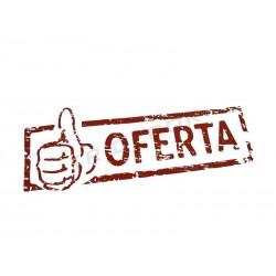 """CARTAZ """"OFERTA"""", 100X35 CM"""