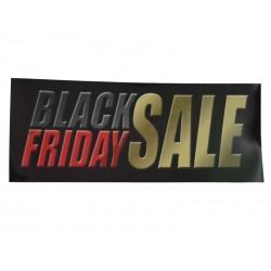 014974 Cartaz Black Friday Sai 100x35. Tridecor