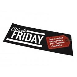 Cartel Black Friday. 100x35, tridecor