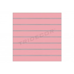 Panel blade pink, 7 guides. 120x100 cm, tridecor