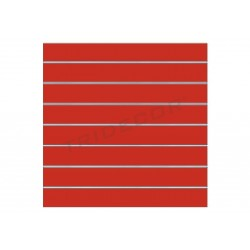 Panel blade color red 120x100 cm 7 guides, tridecor