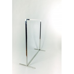 ABRIGO RACK SIMPLE CADRADO TUBO 130X120X50 CM