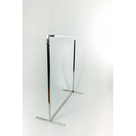 038204 Perchero simple tubo cuadrado 130x120x50 cm, tridecor