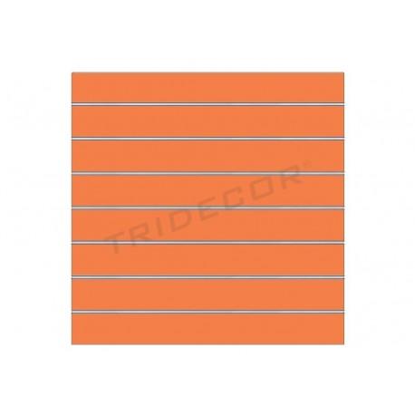 Panel blade orange 120x100 cm 7 guides, tridecor
