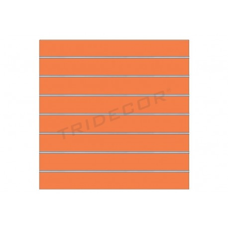 Panel blade orange 120x100 cm 7 .5 guides, tridecor