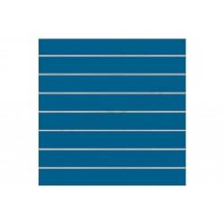 Painel de lamas azul, 7 guias. 120x100 cm tridecor