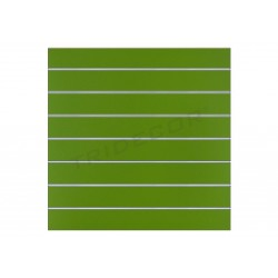 Panel de lamas pistacho 120x100 cm. 7 guias, tridecor