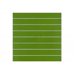 Panel de lamas pistacho, 7 guias. 120x100 cm, tridecor