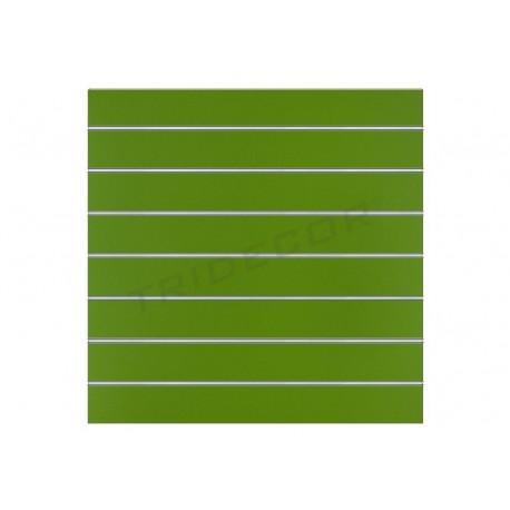 Panel lamas pistachio 120x100 cm 7.5 guides, tridecor