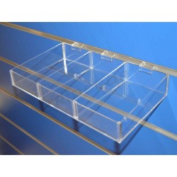 007702 Tray of acrylic for panel and blade. Tridecor